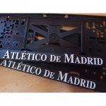 Držáky na SPZ Atletico Madrid